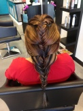 Messy Braids Hair Style at our Rio Rancho Hair Salon